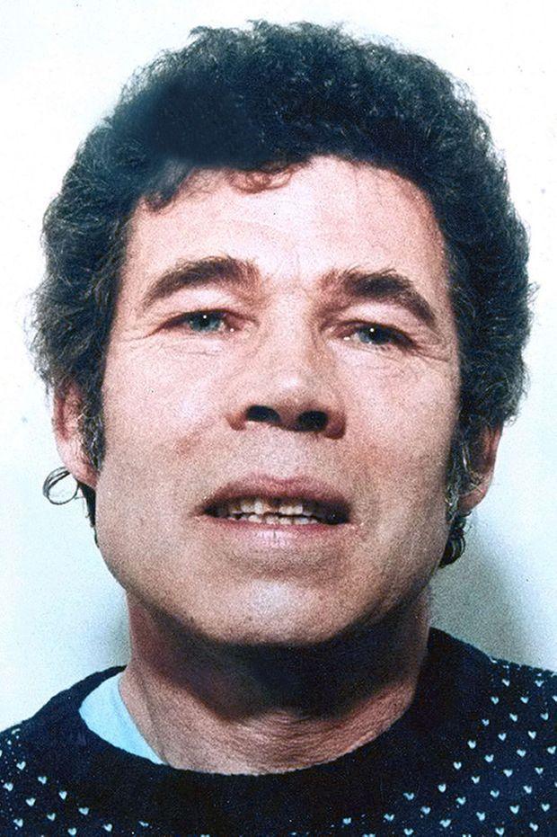 Photographie d'identité judiciaire de Fred West, en 1994.