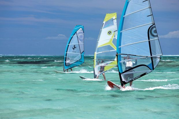 Championnat de planche à voile et kitesurf