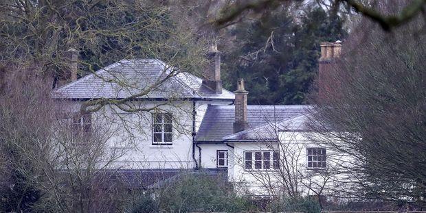 L'Adelaide Cottage, dépendance de la Frogmore House sur le domaine du château de Windsor, et future ex-résidence de Meghan et Harry...