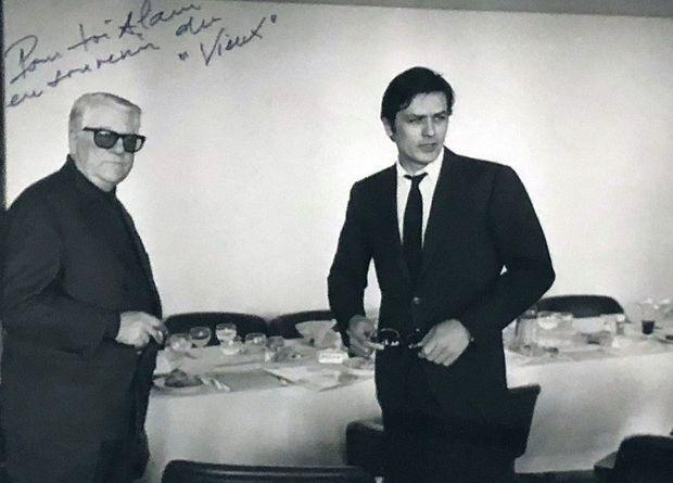 « Mélodie en sous-sol », « Le clan des Siciliens », « Deux hommes dans la ville » : en dix ans, entre 1963 et 1973, il a tourné trois films avec Jean Gabin, son idole, qu'il n'a jamais osé tutoyer.
