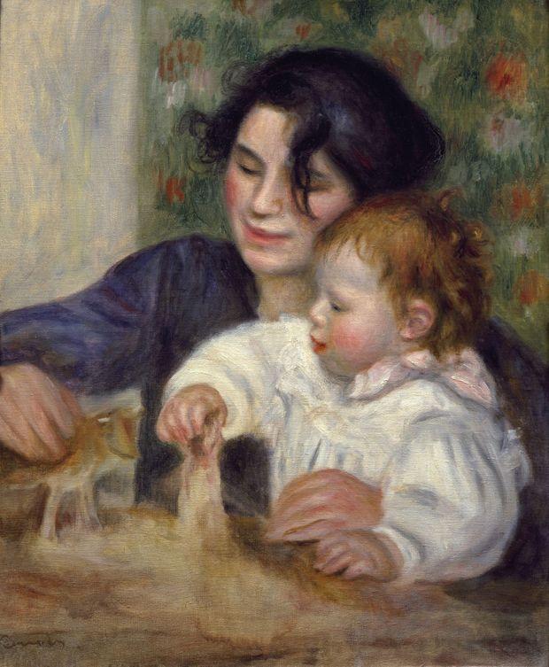 """""""Gabrielle et Jean"""", Auguste Renoir, 1895 (Musée de l'Orangerie, Paris)"""