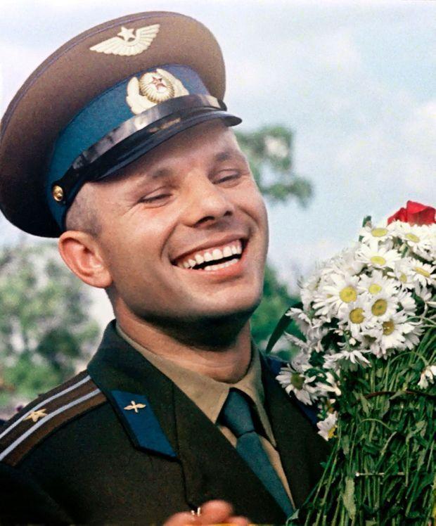 Youri Gagarine, juin 1961.