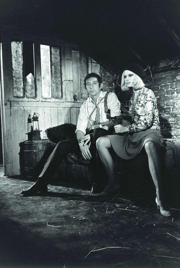 """Gainsourg et BB dans la peau de """"Bonnie and Clyde"""""""