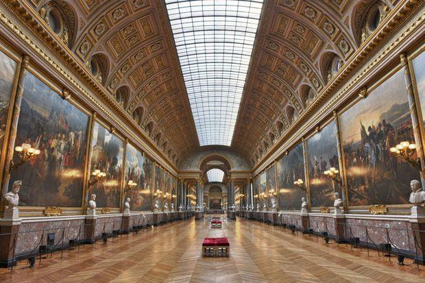 La galerie des Batailles au château de Versailles