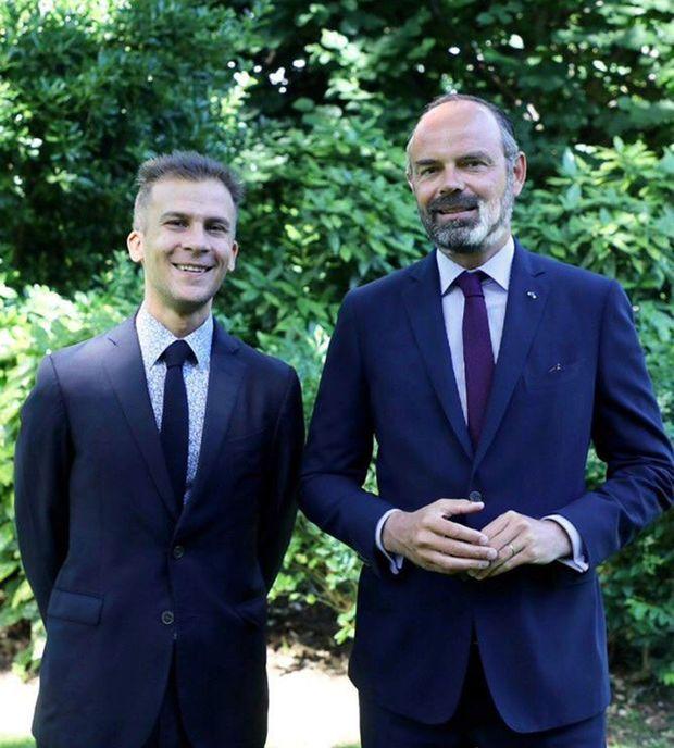 Gaspard Gantzer et Edouard Philippe