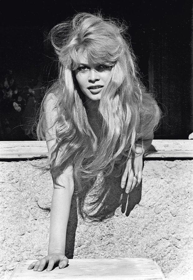 Bardot, la féline charme l'objectif du Leica de notre photographe Jack Garofalo à Cannes en mai 1957.