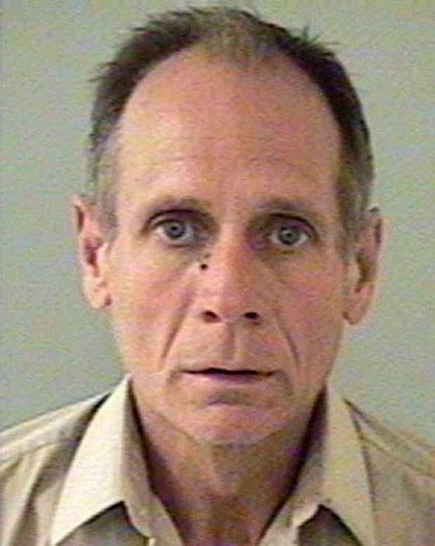Phillip Garrido, sur la photo d'identité judiciaire prise par le shérif du comté d'El Dorado en Californie, au lendemain de son arrestation, le 26 août 2009.