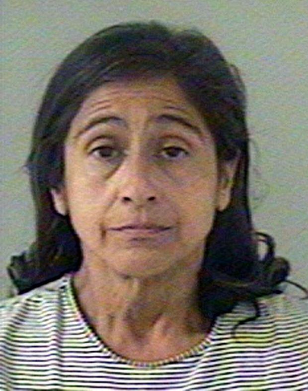 Nancy Garrido, sur la photo d'identité judiciaire prise par le shérif du comté d'El Dorado en Californie, au lendemain de son arrestation, le 26 août 2009.