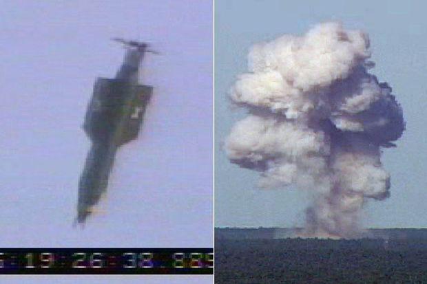 La bombe GBU-43/B a été larguée jeudi 13 avril 2017.