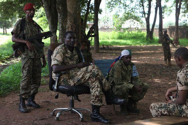 Le général Ali Darassa, chef local des Seleka