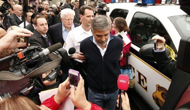 George Clooney arrêté -