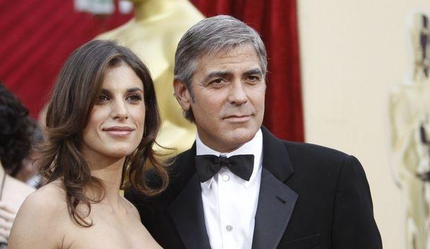 George Clooney et Elisabetta-