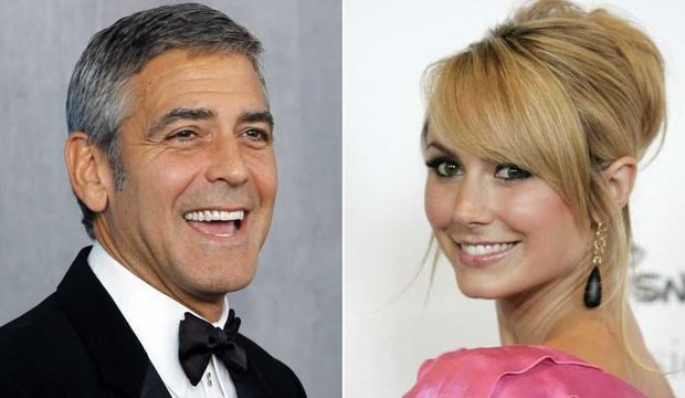 George Clooney et Stacy Keibler-