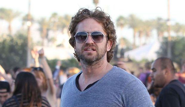 Gerard Butler à Coachella -