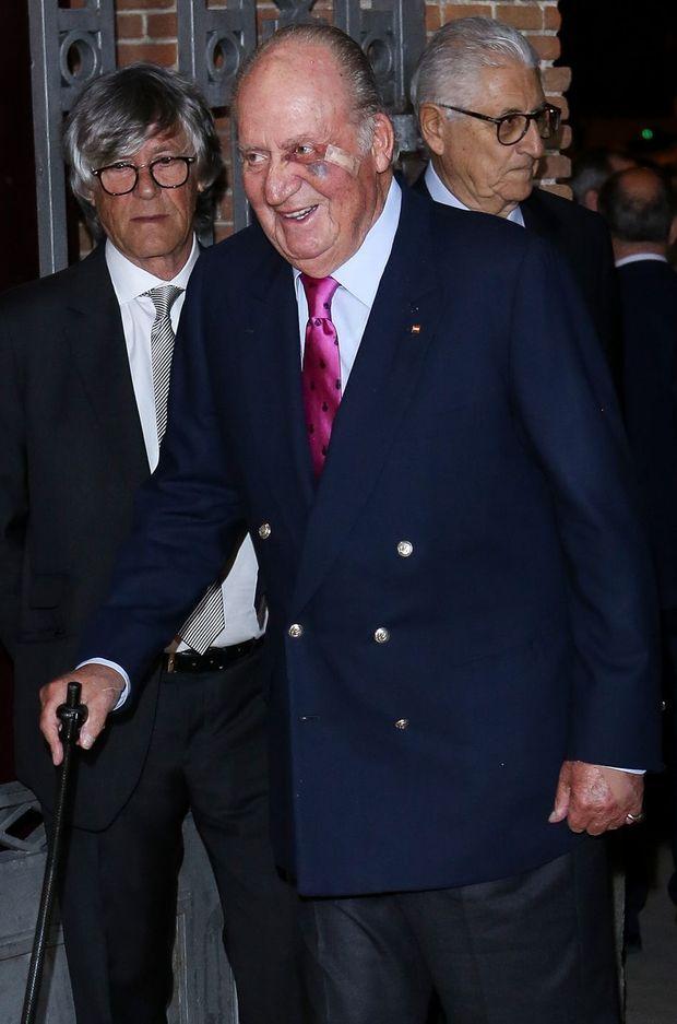 L'ancien roi Juan Carlos d'Espagne, le 22 mars 2019