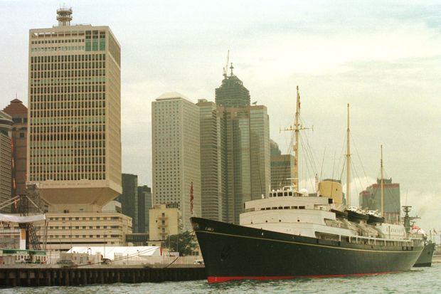 Le Britannia à Hong Kong le 28 juin 1997