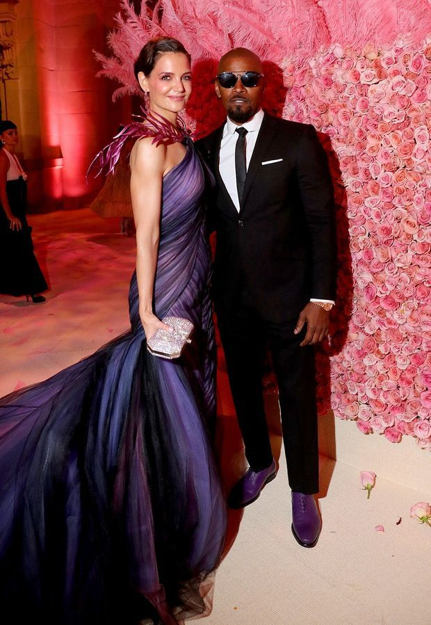 Katie Holmes et Jamie Foxx au gala du MET en mai 2019 à New York