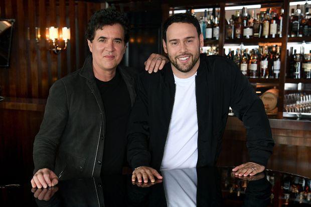 Scott Borchetta et Scooter Braun le 28 juin 2019 à Montecito