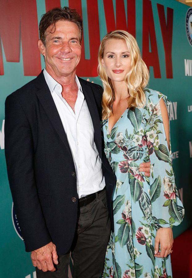 Dennis Quaid et Laura Savoie à Honolulu le 20 octobre 2019