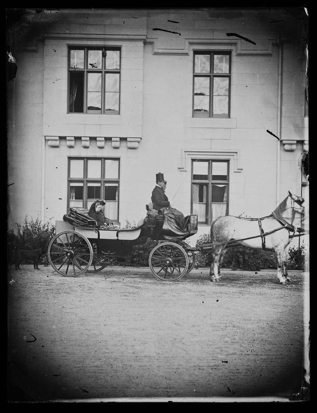 La reine Victoria à Balmoral, vers 1868