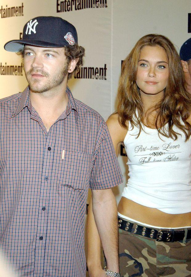 Marie Bobette Riales et Danny Masterson en 2003