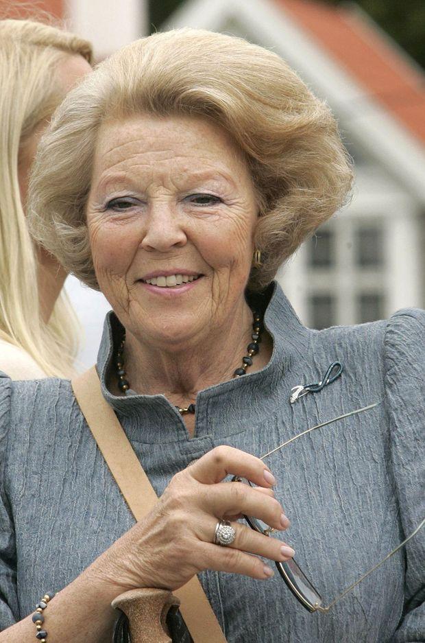 La reine Beatrix des Pays-Bas, le 7 juillet 2007
