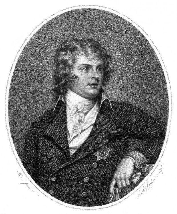 Le prince Augustus Frederick, duc de Sussex, en 1801, par Anthony Cardon