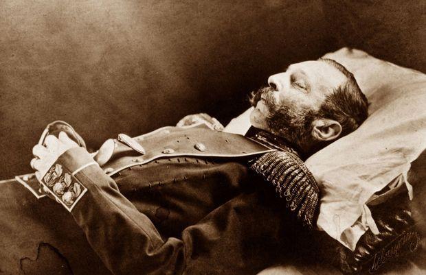 Le tsar Alexandre II sur son lit de mort