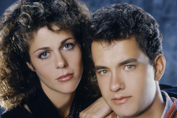 Rita Wilson et Tom Hanks sur une photo promotionnelle pour leur film «Toujours prêts» sorti en 1985