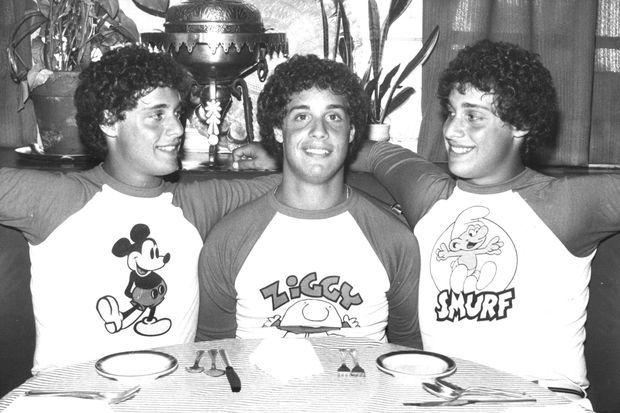 Eddy, David et Robert en juillet 1981