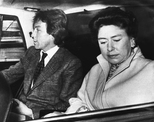 La princess Margaret et Roddy Llewellyn, le 27 février 1978