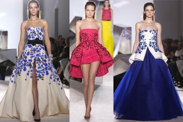 Trois coups de coeur dans la collection Haute Couture de Giambattista Valli.