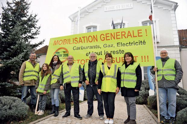 A Mouy-sur-Seine (Seine-et-Marne), c'est le maire, Gérard Carrasco, qui est à l'origine de la «mobilisation générale».