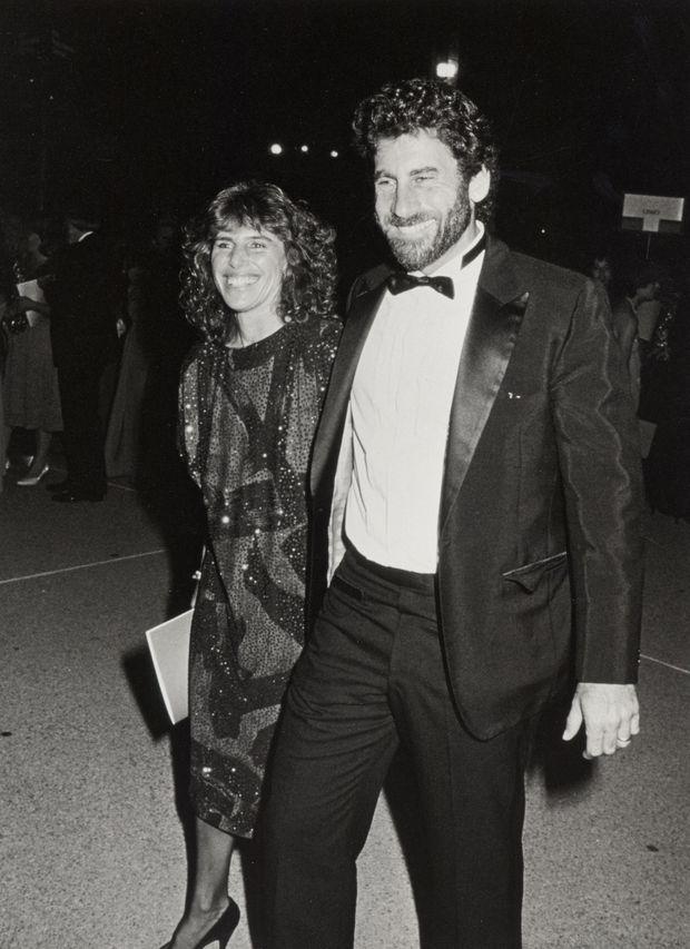 Paul Michael Glaser et son épouse Elizabeth en septembre 1985.