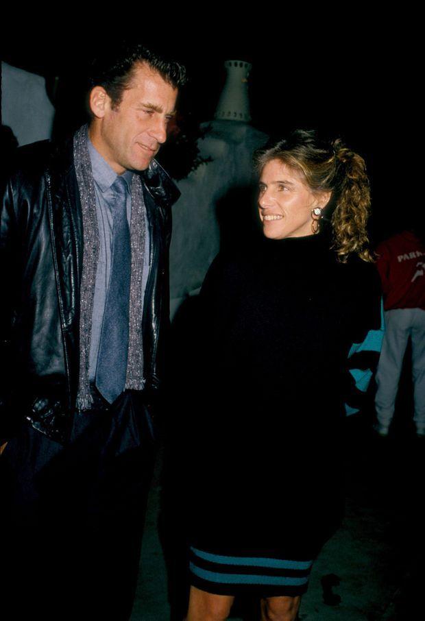 Paul Michael Glaser et son épouse Elizabeth en novembre 1987.