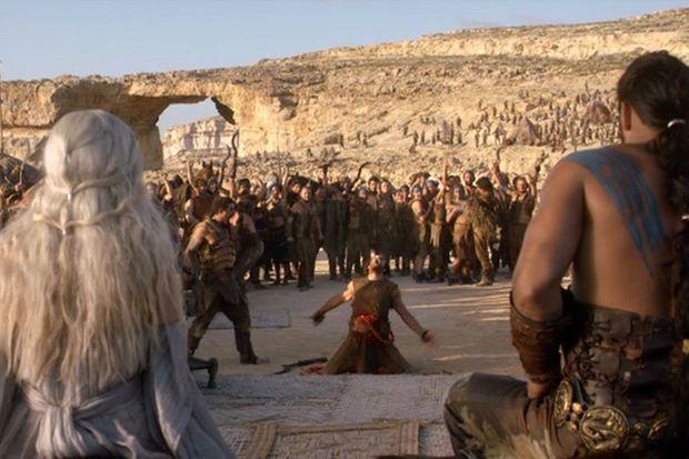 "L'arche dans ""Game of Thrones"""