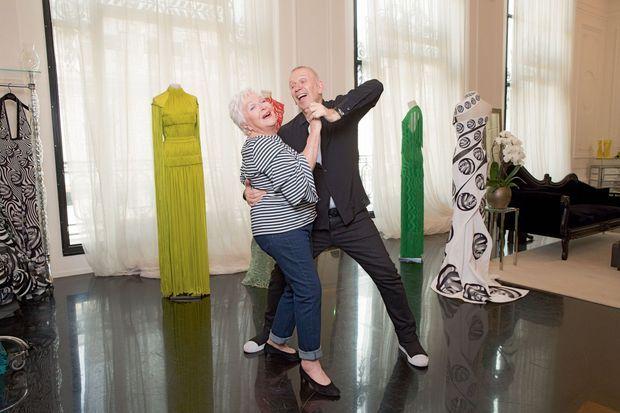 Grâce à Jean Paul Gaultier, Line sera la plus belle pour aller danser.