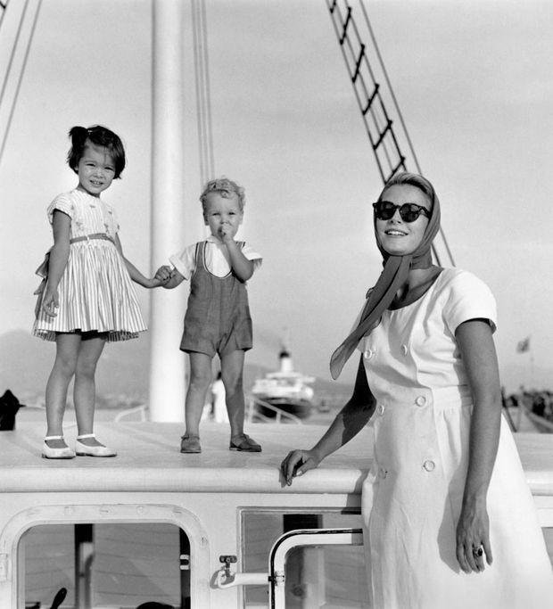 Grace voilier Albert Caroline 1960-