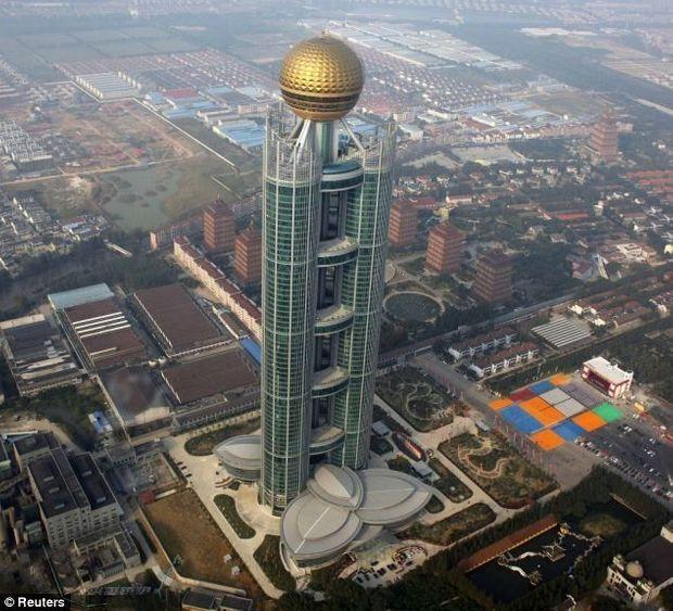 Gratte Ciel Chine-