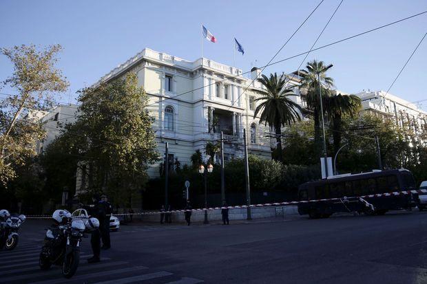 L'ambassade de France à Athènes.