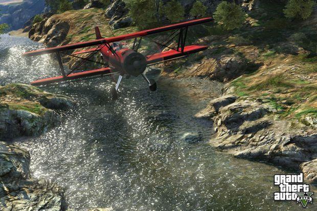 Il est possible de piloter plusieurs types d'avions dans le jeu.