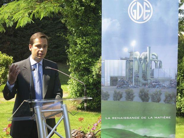Guillaume Dauphin, dirigeant actuel de GDE.