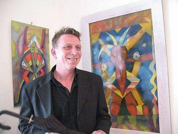 Guillaume Molinet à la galerie Sainte-Anne.