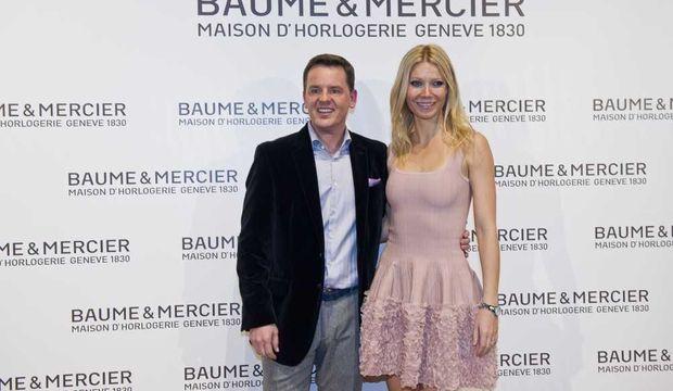 Gwyneth Paltrow et Alain Zimmermann-
