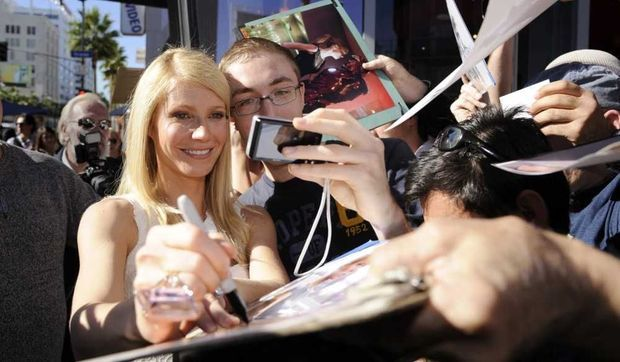 Gwyneth Paltrow sur le Walk of Fame-