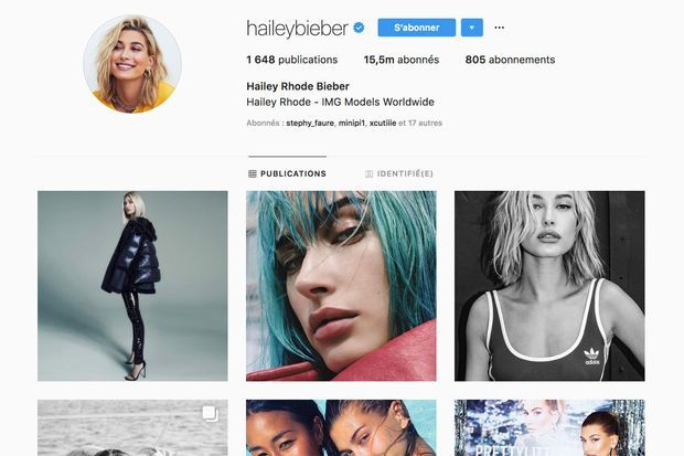 Hailey Baldwin a changé son nom en Hailey Bieber sur Instagram