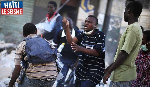 Haïti Scène violence-