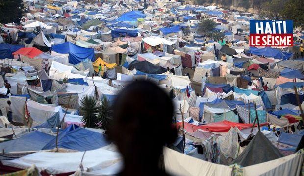 Haïti tentes -
