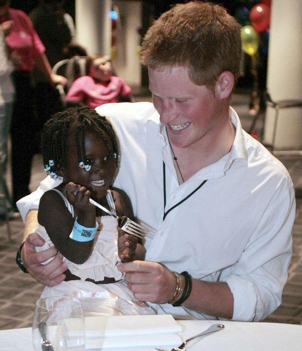 Harry en Angola-