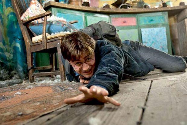 """Une image extraite de la saga """"Harry Potter""""."""
